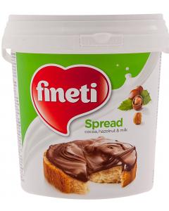 Crema de cacao, alune padure si lapte Finetti 1kg