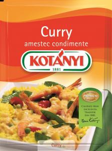 Amestec condimente Curry Kotanyi 27g