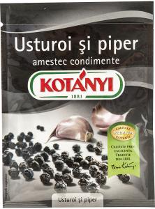 Amestec condimente Usturoi si piper Kotanyi 27g