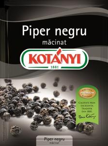 Piper negru macinat Kotanyi 17g