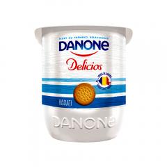 Iaurt cu biscuiti Danone Delicios 125g