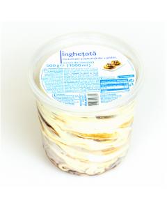 Inghetata cacao si vanilie Blanc 500g (1000ml)