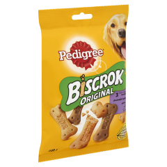 Biscuiti crocanti Biscrok Pedigree 200g