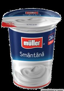 Smantana 24% grasime Muller 375g