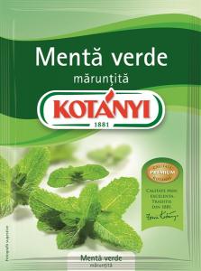 Menta verde maruntita Kotanyi 9g