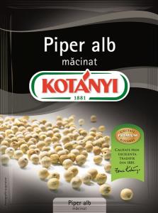 Piper alb macinat Kotanyi 17g