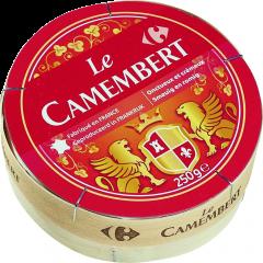 Branza Camembert 45% grasime Carrefour 250g