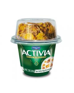 Mic-Dejun clasic cu fulgi de cereale 3.3% Activia