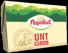 Unt 82% grasime Napolact 180g