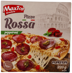 Pizza Rossa pepperoni Max Top 320g