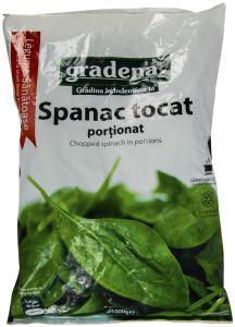 Spanac tocat portionat Gradena 1kg