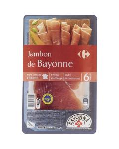 Jambon Carrefour 100g