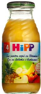 Suc pentru copii cu vitamina C Hipp 200ml
