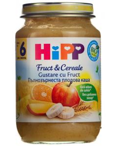 Gustare bio cu fructe si cereale Hipp 190g
