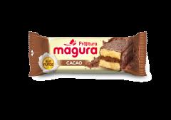 Prajitura cu crema si glazura de cacao Magura 35g