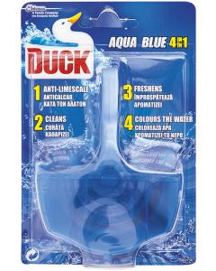 Aparat solid pentru toaleta Duck Aqua Blue 4 in 1