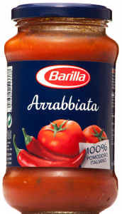 Sos tomate Arrabbiata Barilla 400g