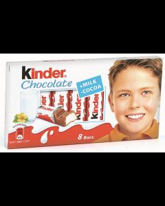 Batoane ciocolata cu crema de lapte Kinder 100g