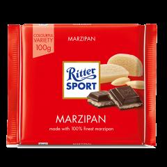Ciocolata neagra cu umplutura de martipan Ritter Sport 100g