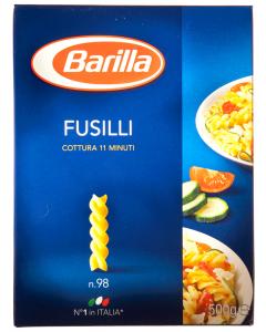 Paste alimentare Barilla Fusilli 500g