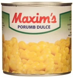 Porumb dulce Maxim's 340g