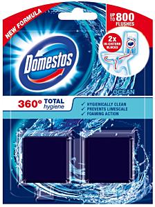 Odorizant bazin toaleta Domestos Blue 100 gr