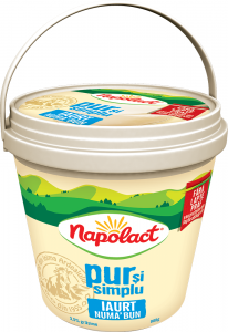 Iaurt numa bun Napolact 3.5% grasime 900g