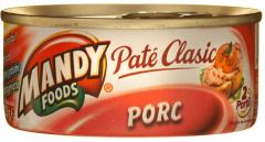 Pate clasic de porc Mandy 120g