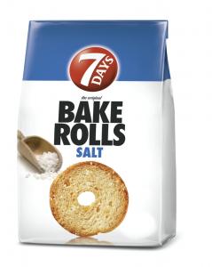 Paine prajita cu sare Bake Rolls 80g