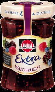 Dulceata extra de fructe de padure Schwartau 340g