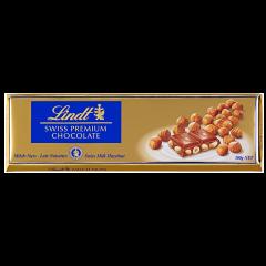 Ciocolata cu lapte si alune Lindt 300g