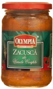 Zacusca de vinete coapte Olympia 295g