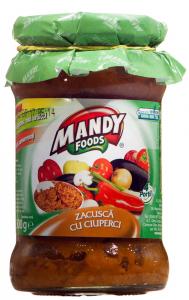 Zacusca cu ciuperci Mandy 300g
