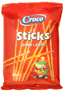 Sticks cu sare Croco Max 80g