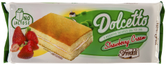 Prajitura cu crema capsuni Dolcetto 200g