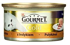 Hrana completa pentru pisici cu curcan Purina Gourmet Gold 85g