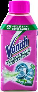 Dezinfectant pentru masina de spalat Vanish 0.250L
