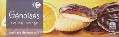 Biscuiti cu portocale si ciocolata Carrefour 150g