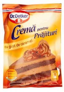 Crema pentru prajituri cu gust de caramel Dr.Oetker 55g