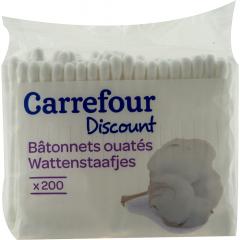Betisoare urechi Carrefour 200 buc
