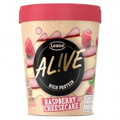 Inghetata cu aroma de cheesecake si zmeura Alive 480ml
