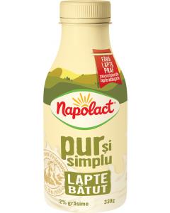 Lapte batut Napolact 2% grasime 330g