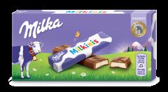 Ciocolata umpluta cu crema de lapte Milka Milkinis 87.5g