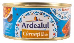 Conserva carnati cu fasole Ardealul 300g