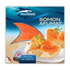 File somon afumat Blue Shark 150g