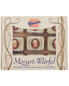 Praline ciocolata si martipan Manner Mozart-Wurfel 120g