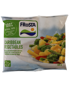 Amestec Caraibean de legume Frosta Caribbean Vegetables 400g