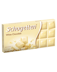 Ciocolata alba Schogetten 100g