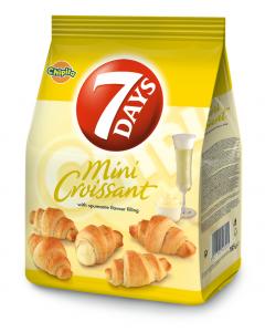 MiniCroissant cu crema de vin spumant 7Days 185g