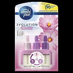 Rezerva odorizant de camera electric Ambi Pur 3Volution Flowers & Spring, 20 ml